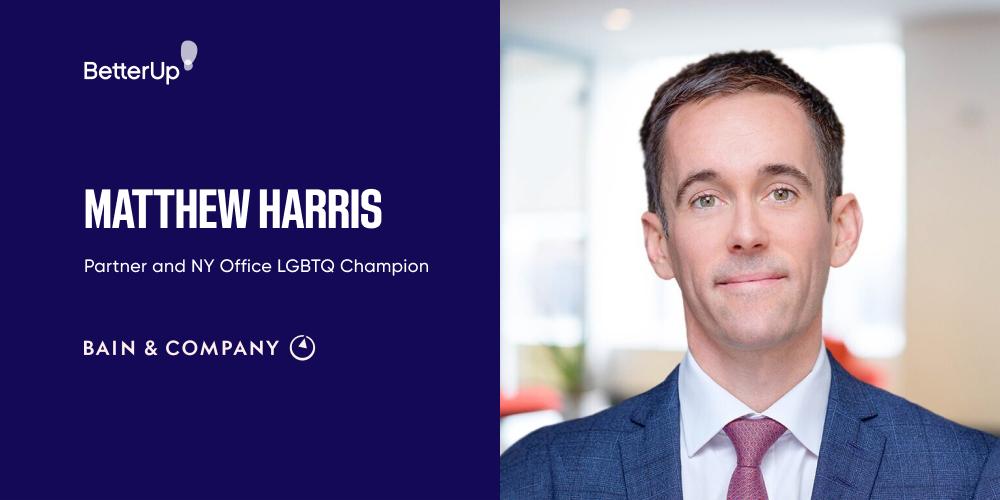 Matthew Harris partner at Bain champion of deep diversity at work