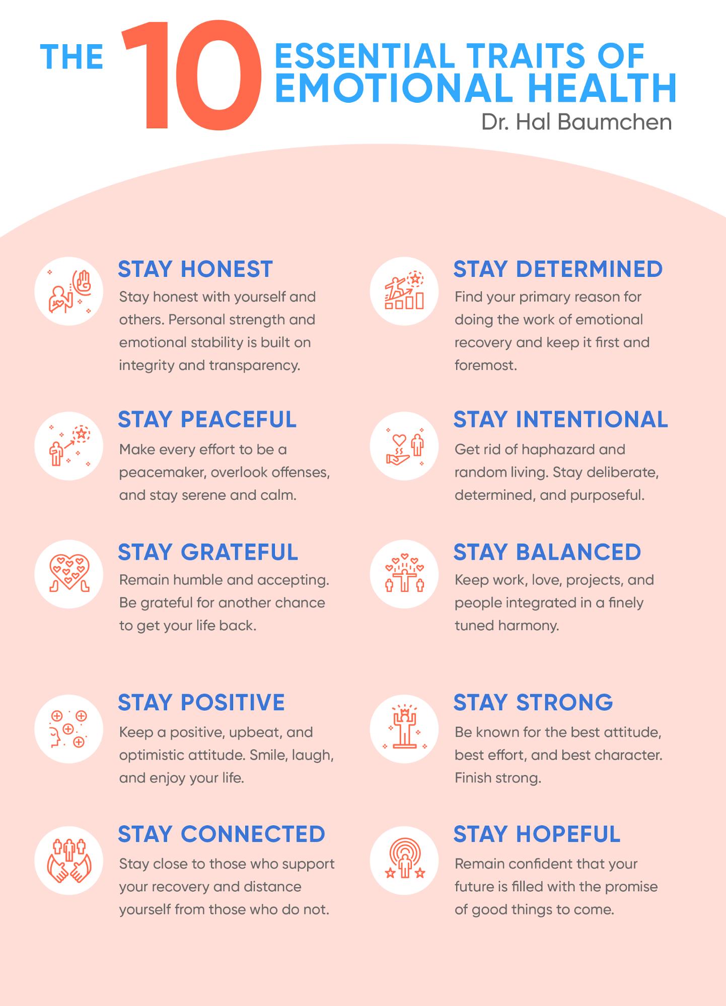 essential traits of emotional health