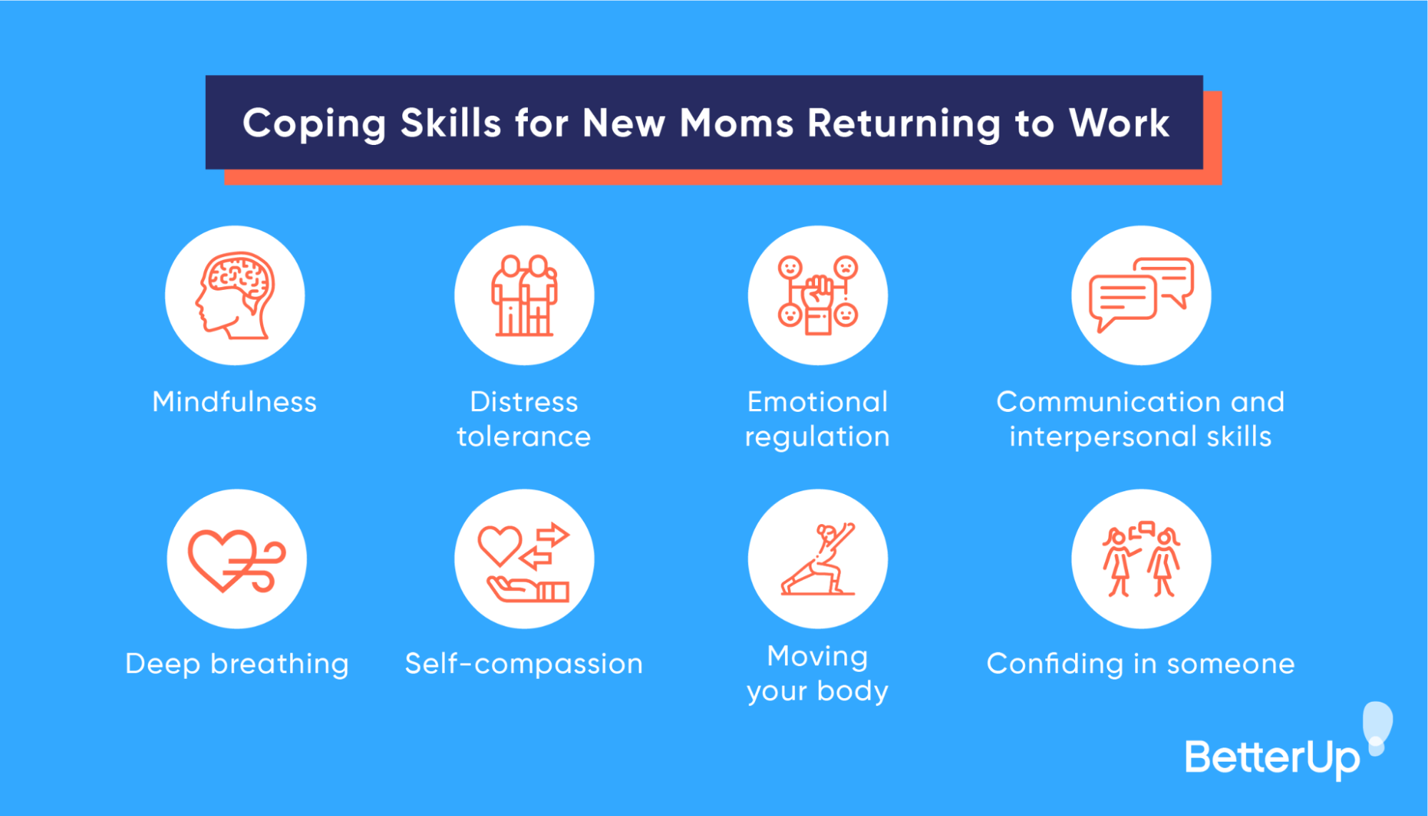 coping skills for new moms returning to work
