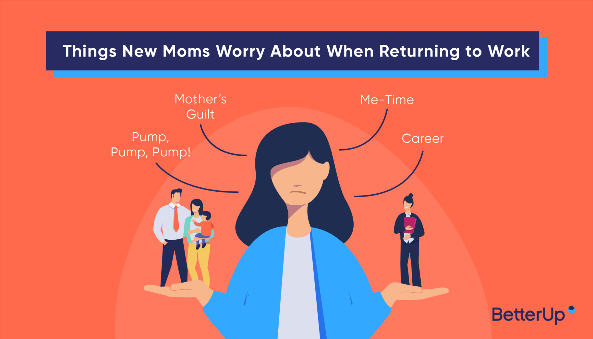 things new moms worry about when returning to work