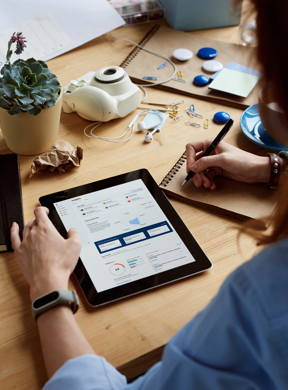 Insights on an ipad